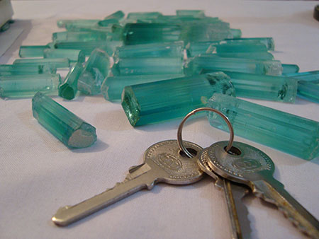 Tourmaline Crystals photo image