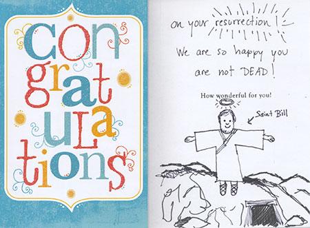 Congratulations card image