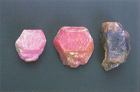 Corundum Crystals photo image