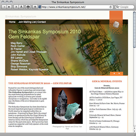 Symposium website image